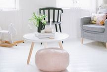INTERIOR / Mainly neutral interiors with pops of colour