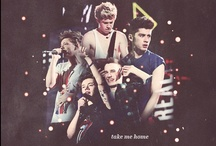 I LOVE ONE DIRECTION / Really love 5 idiot boys, they are Niall Horan, Harry Styles, Liam Payne, Louis Tomlinson and Zayn Malik <3