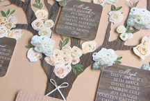 Tableau de mariage / Table Plan Ideas for weddings