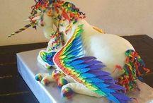 Cakes / Cupcake ideas / by Joey Hursh