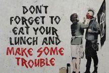 Street art Bansky / Street art