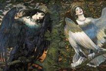 Виктор Васнецов др 15 мая 1848 г., Киров /  Russian artist / романтизм