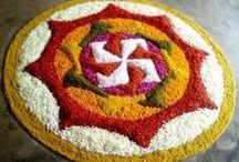 ◆ Rangoli - festival n floral ◆ / by Sarva Mangala