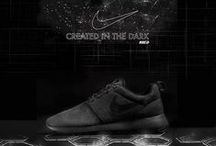 Nke Roshe Run / My last personal project on the launch of the new Roshe Run Nike Total Black signed iD. Enjoy.. Rix