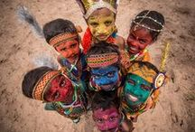 Tribes of the world / Beautiful tribes and people of the world