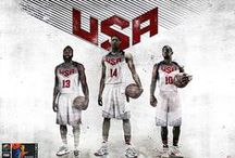 Team USA, United We Stand. / Starting from the original photos of Team uses made ​​by nike, I conducted a series of wallpaper with James Harden, Anthony Davis and Kyrie Irving.  United we stand, united we will be gold.  Enjoy ..  Rix