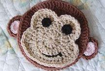 ◆ Crochet appliques ◆ / by Sarva Mangala