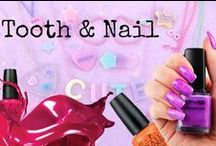 Tooth & Nail / Comprehensive guide to easy and elegant nail art design......NB: NO STILETTO NAILS HERE! (urgh!))