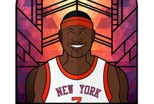 NBA Characters / Nba illustration