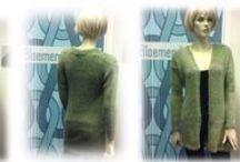 VESTEN Bloemendalwol creaties / Deze vesten kun je als voorbeeld bekijken in onze winkel. www.bloemendalwol.nl    ...............tags: vesten cardigans  vest cardigan wol wolle yarn knitting sweaters breien wol