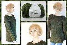 TRUIEN Bloemendalwol creaties / Truien door ons gemaakt en (mits we ze niet dragen in de winkel )  als voorbeeld te zien zijn bij www.bloemendalwol.nl  tags: breien knitting wol wolle yarn sweaters