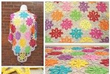 GRATIS haakpatronen shawls omslagdoeken, dekens  etc. / Op dit board komen alle mooie gratis patronen van gehaakte shawls,  omslagdoeken etc. en voor het bijpassende garen ga je natuurlijk naar:  http://bloemendalwol.nl/