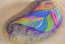 Rock painting / kavicsfestés