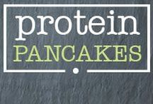 · protein pancakes · / Healthy Gluten Free Protein Pancake Recipes! Get your FREE 45-Page Protein Pancake Recipe e-Book at www.AFitPhilosophy.com now!
