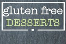 · gluten free desserts · / Healthy gluten free dessert recipes! Healthy eating doesn't have to be boring!