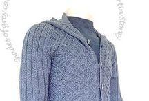 Truien vesten  voor mannen gebreid door onze klanten / Truien vesten  voor mannen gebreid door klanten van Bloemendalwol  breien mannen heren men knitting  sweater cardigan