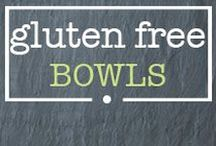 · gluten free bowls · / Healthy and gluten free bowls! Buddha bowls, breakfast bowls, rice bowls, allllll kinds of bowls!