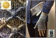 Mutsen wanten en handschoenen gemaakt door klanten / Mutsen wanten en handschoenen gemaakt door klanten van bloemendalwol  tags: breien haken wanten handschoenen mutsen patronen inspiratie