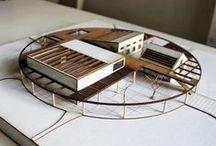 Architectural Model / Maquetas de estudio, edificios y presentaciones. / by Felipe Márquez Thomas