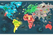 Travel around the world / by Reg Ina