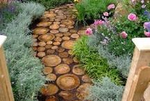 Landscaping:  Paths
