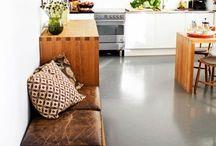 DIY kitchenbench / nook