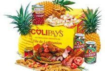 Colipays - Les Traditionnels / Les colis de corbeilles de fruits et de paniers gourmands de La Réunion de 5 et 10 kg, livrés en France et en Europe
