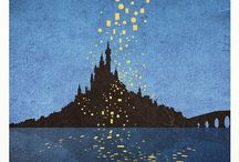 Where magic happens. / Disney creations.