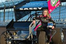 Women in Sprint Car Racing / Learn more about women in racing, the female drivers who compete at Knoxville Raceway. / by Knoxville Raceway