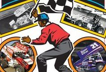 In The Rear View Mirror / Knoxville Raceway posters from the past and present / by Knoxville Raceway