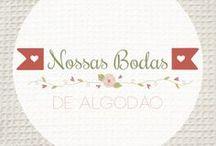 2 anos - Bodas de Algodão / Inspirações para comemorar o segundo aniversário de casamento selecionadas pelo blog Nossas Bodas {www.nossasbodas.com}.