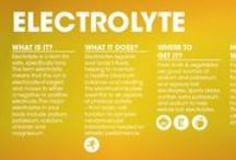 Information about Electrolytes / Basic info to keep you informed about electrolytes