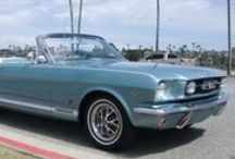 Ford Mustang of the sixties / by GDB's choice