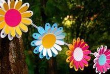 primavera, laboratori manuali / tutorial per creare fiori e non solo