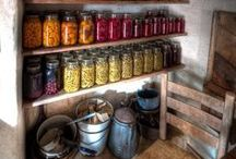 Kitchen Preserving and Food Storage
