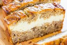 Recipes to Try: Desserts Breads etc