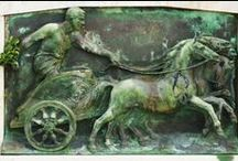 Ancient chariot racing / Chariot racing in antiquity, especially in ancient Greece and Rome.