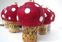 Come riutilizzare i tappi di sughero. wine corks