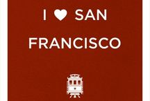 San Francisco California / I love this city and hope to be able to share why.