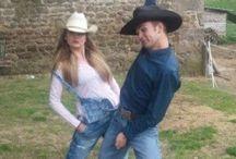 notre vie /  Western-rodéo-saddle bronc