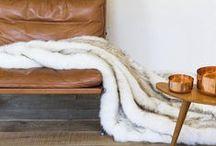 Inspiration cocooning / Mon confort tendance avec mes coussins et plaids assortis, pour passer un moment de détente...  #déco #décoration #plaid #cocoon #cosy #confort