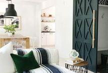Interiors / #paintcolours #livingrooms #decorideas #loungeroom #readingnook #cushions #hacks #tips