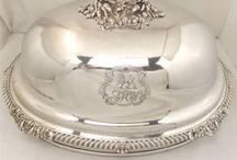 Vintage Silver Plated Everything / Decorative, vintage and antique pieces for the home that are silver plated.  / by Silver and Grey