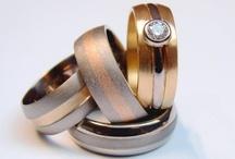 Bespoke Wedding Rings / unusual wedding rings