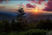 Blue Ridge Parkway / Outstanding scenery and recreational opportunities make the Blue Ridge Parkway one of the most visited sections of the National Park System.  The Cherokee Indian Reservation is THE southern gateway to the Parkway.