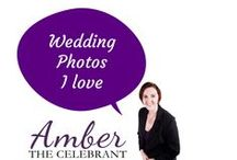 Wedding Photos l Love / Wedding Photos capture the emotions of your special day.  Make sure you list all the shots you need so that nothing gets forgotten. www.amberthecelebrant.com/gallery.html