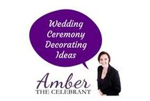 Wedding Ceremony Decorating Ideas / Whether you DIY or hire the best, decorating for your ceremony can set the mood.