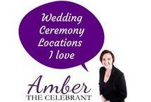 Wedding Ceremony locations l love