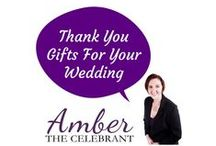 Thank You Gifts For Your Wedding