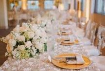 Wedding - Table Numbers and Settings / Table Numbers, Name Cards and Centerpieces